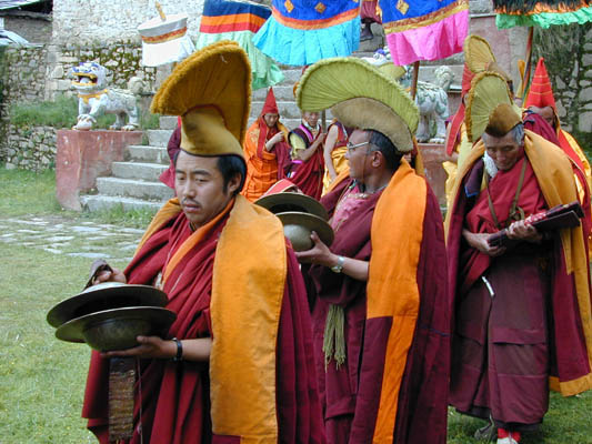 c4d1a035cf ... in procession by monks of all 3 of the younger (or